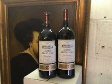 2 magnum Château Grand Jean Bordeaux rouge  Millésime 2016 et 2019