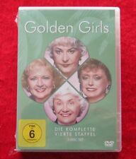 Golden Girls die komplette vierte Staffel, DVD Box Serie Season 4, Neu