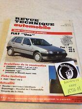 Revue Technique Automobile Fiat Uno pop 45 45S 60S évolution Peugeot 305 J9 RTA