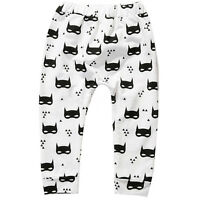 Kids Baby Boy Print Harem Pants Trousers Toddler Girls Bottom Leggings Sweatpant