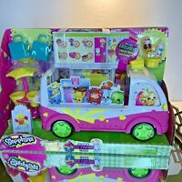 Shopkins Ice Cream Truck Food Fair Moose 4+ NIB Toys Kids #N1
