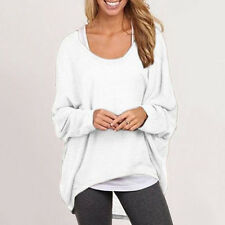 Women Long Sleeve Pullover Knit Sweater Oversized Casual Loose Jumper Top Blouse