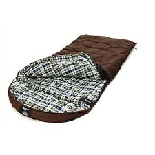 """GRIZZLY 90"""" x 40"""" 1-P 0 Degree BROWN CANVAS Sleeping Bag by & DRY BAG COMBO!"""