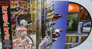 Iron Maiden - Somewhere in Time Picture Vinyl 2013 incl. OBI 180 Gramm NEU  NEW