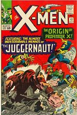 X-Men #12 Facsimile Reprint Cover Only Orig Ads Key 1st App of The Juggernaut
