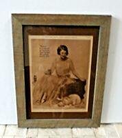 Original 1924 COCA-COLA Coke Cat Neysa McMein Art Ephemera Print Magazine Ad