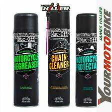 Muc-Off Motorcycle Triple pack Degreaser, Cleaner, Protectant