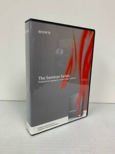 SONY SEMINAR SERIES: Sound Forge 9 - TRAINING SOFTWARE- VERY GOOD-SHIP FREE