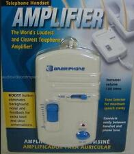 Telephone Amplifier Deluxe 40dB with Tone Control phone handset Hearing Impaired