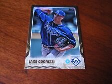 2015 Topps Series 1 #59 Jake Odorizzi Tampa Bay Rays Gold Parallel 1631/2015