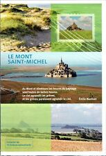COLLECTOR TIMBRES   LE  MONT  SAINT  MICHEL10 TIMBRES AUTOCOLLANTS