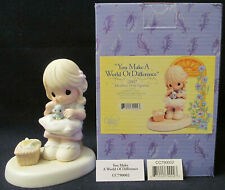 Precious Moments Figurine # Cc790002 Member Only~You Make a World of Difference