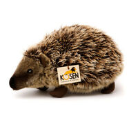 Hedgehog 'Heinrich' - mohair collectable soft toy by Kosen - 6190