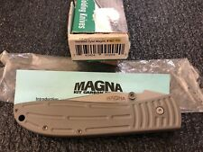 Outdoor Edge Knife Magna Kit Carson MZ-10S Tactical NOS Folder Hunting Retired