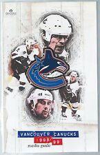 1998-99 Vancouver Canucks NHL Hockey Media Guide Mark Messier