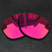 Red Replacement Lenses for-Oakley Frogskins Sunglasses Frame Polarized