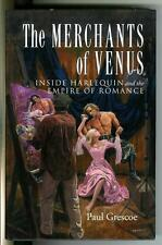 THE MERCHANTS OF VENUS by Grescoe, story of Harlequin romances rare US HC in DJ