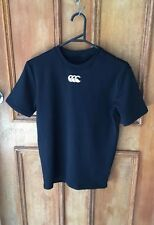 BOYS CANTERBURY ARMOUR FIT BLACK TOP SIZE L