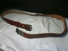 SURPLUS ROMANIAN LEATHER SLING GOOD CONDITION
