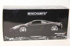 1/18 MINICHAMPS 2011 MCLAREN MP4-12C , MATT BLACK , LIMITED EDITION 1 OF 750