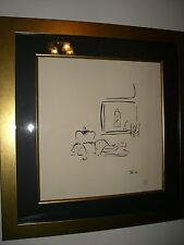 """John Lennon  Massage   """" Day Dream""""   PRINT signed and numbered by Yoko Ono:"""