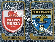 N°695 SCUDETTO # ITALIA MONZA CALCIO - OLIBIA STICKER PANINI CALCIATORI 2004