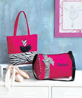 She Could Have Danced All Night - w/This Zebra DANCE TOTE or DUFFEL BAG New!