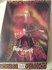 Hard Rock Cafe Barbie Doll First Edition 2003 - New NRFB - Tattoo Red Guitar