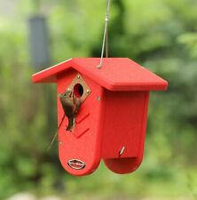 Kettle Moraine Recycled Nest Box for Chickadees Wrens Heavy Duty