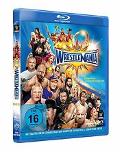 WWE WrestleMania 33 [2 Blu-rays] DEUTSCH + Hall of Fame 2017 *NEU* WM Blu-ray