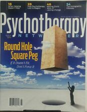 Psychotherapy Networker March April 2017 Round Hole Square Peg FREE SHIPPING sb