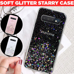 Bling Glitter Shockproof Silicone Case Cover For Samsung S20 5G S10 Plus S9 S8