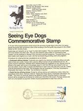 #7910 15c Seeing Eye Dog Stamp #1787 USPS Souvenir Page