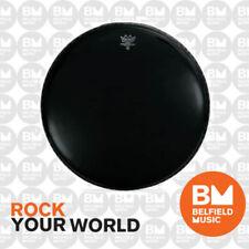 Remo P3-1022-ES Drum Head Powerstroke 3 22'' 22inch Ebony Skin Bass - Belfield