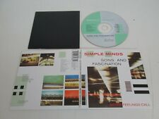 Simple Minds – Sons And Fascination / Sister Feelings Call / SIMCDX4 CD DIGIPAK