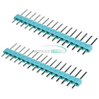 10PCS Green 40Pin 1x40P Male 2.54mm Single Row Breakable Pin Header M