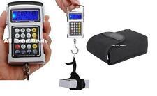 Electronic Fish Hook 50KG Luggage Weighing Scales 7in1 Digital Hanging Weighting