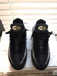 Nike Air Max 95 Size 11 Black/Chrome Yellow/Dark Grey Batman Men's