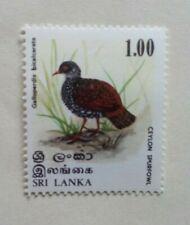 1979 SRI LANKA POSTAGE STAMP MINT HINGED 1.00 BIRDS