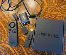 Amazon Fire TV Stick (1st Generation) Media Streamer - Black - Slightly Used