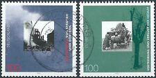 BRD Bund 1995 Mi.1794-1795 aus Block 31 Post-/Tagesstempel ohne Gummierung