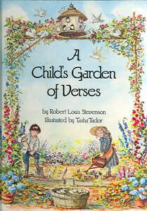 Robert Louis Stevenson / Tasha Tudor A CHILD'S GARDEN OF VERSES 1981 #21922