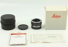 FedEx✈︎ RARE! *NEW w/LEATHER CASE* LEICA EXTENDER-R 2X 11236 LEICA R FROM JAPAN