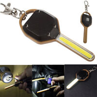 Mini COB LED Camping Flashlight Light Key Ring Keychain Torch Lamp Gracious