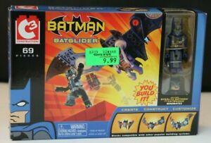 C3 Construction Stealth Batman figure from Batglider vehicle 2004 DC Minimates