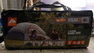Ozark Trail 3-Person Camping Dome Tent New Weather Tested