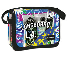 Longboard Street Uomo Donna a Tracolla Messenger Borsa Da Viaggio Surf Flap 37 cm