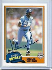 2012 Topps Archives Autographs #Ww Willie Wilson Auto