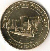 Monnaie de Paris - BREST - MUSEE DE LA MARINE - CANOT DE L'EMPEREUR 2020