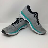 Asics Womens Gel-Kayano 24 Running Shoes Gray T799N Low Top Sneakers 10.5 M